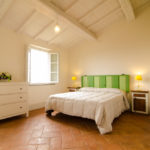 Lallina green bedroom