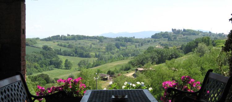 Terrace of House Il Signorino